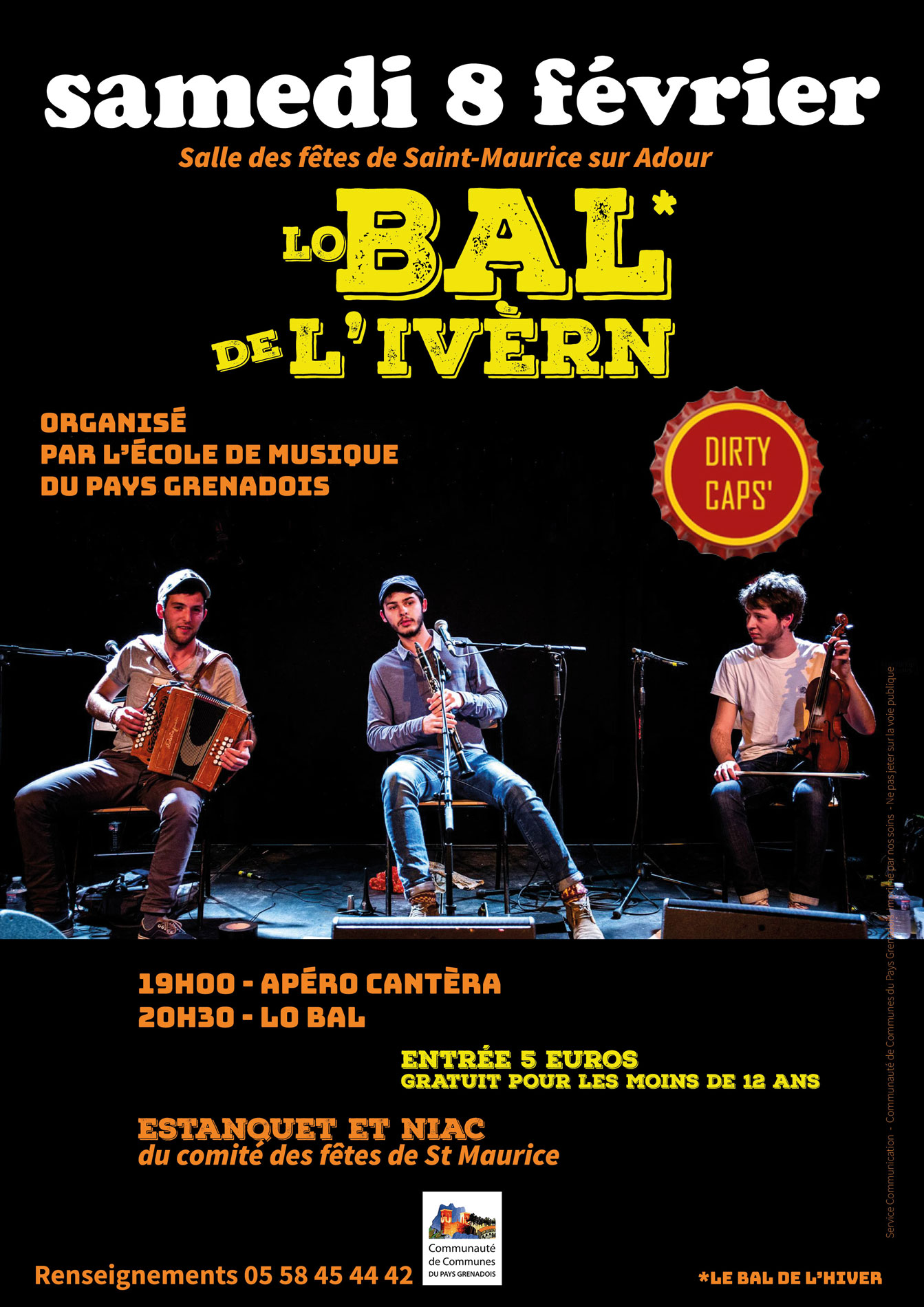 Bal trad 2eme edition diry caps 8 fevrier